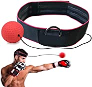 wavewave Boxing Ball Fight Reflex Ball on String, Punching Speed 22g Ball with Headband for Training Speed Rea