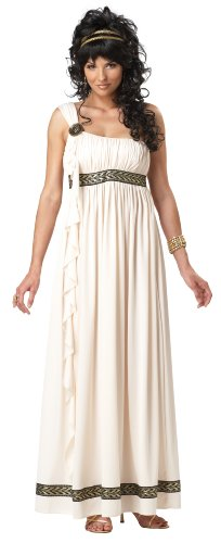 California Costumes Olympic Goddess Adult Costume, Cream, Medium