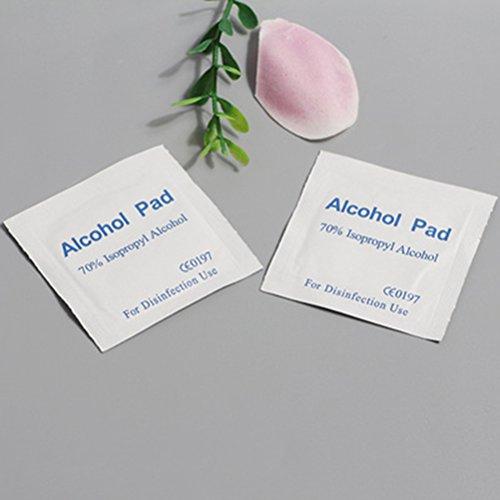 Healifty Toallitas de Alcohol desechables Alcohol Pads Toallitas de Limpieza Heridas al Aire Libre 100 Piezas: Amazon.es: Salud y cuidado personal