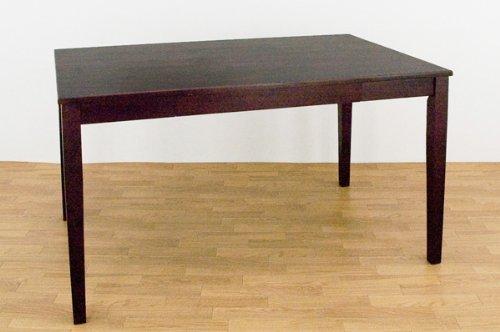 引出し付ダイニングテーブル 120幅 ウエンジVMHD-120WG B0014EQG0Y