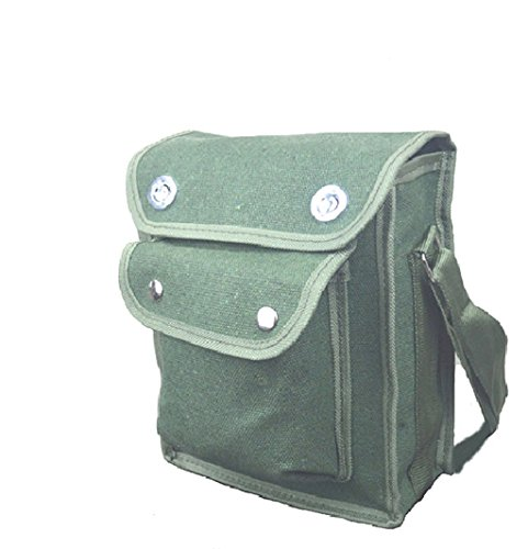 Durable Electrician Tool Bag Shoulder Strap Canvas Storage Case Utility Tools Pocket Pouch Repair Hardware Network Mechanic Toolkit (S)