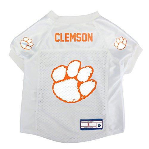 Clemson Tigers Football Jersey - NCAA Clemson Tigers Pet Jersey, Small