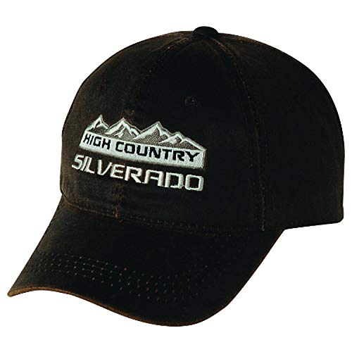 Gregs Automotive Silverado High Country Weathered Chevrolet Chevy Hat Cap - Bundle with Driving Style Decal