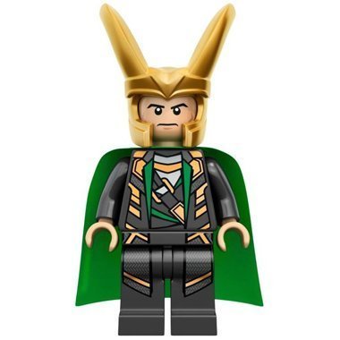 LEGO? Super Heroes: Loki Minifigure (with Cosmic Cube) by LEGO - Lokis Cosmic Cube