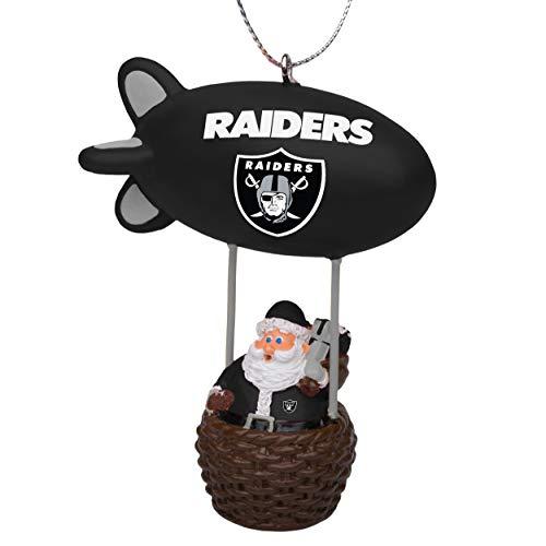 NFL Oakland Raiders Santa Blimp Ornamentsanta Blimp Ornament, Team Color, One Size ()