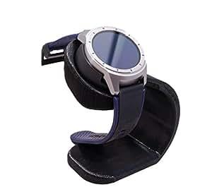 Artifex Design Stand Configured for ZTE Quartz Smartwatch Charging Stand, Artifex Charging Dock Stand (Black)