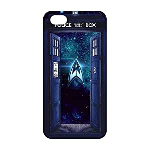 Cool-benz Doctor Who magical blue box 3D Phone Case for iPhone 4/4s