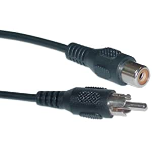 CableWholesale Cblwhl 25-Feet Male/Female RCA Extension Cable (10R1-01225)