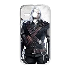 Motorola G Cell Phone Case White The Witcher 3 Wild Hunt review Geralt SUX_890461