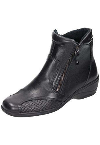 Comfortabel WoMen 990969 Boots, Black Black (Black)