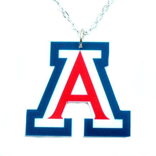 Running With Scissors U of A Wildcats Collegiate Charm Necklace