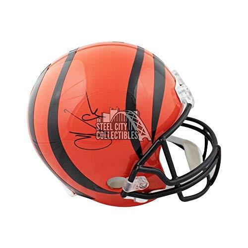 Chad Johnson Autographed Football - Chad Johnson Autographed Signed Cincinnati Bengals Full-Size Football Helmet - JSA Authentic