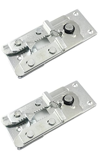 Two (2) Metal Couch / Sofa Snap Style Sectional Connector with Screws (Bracket Connector)