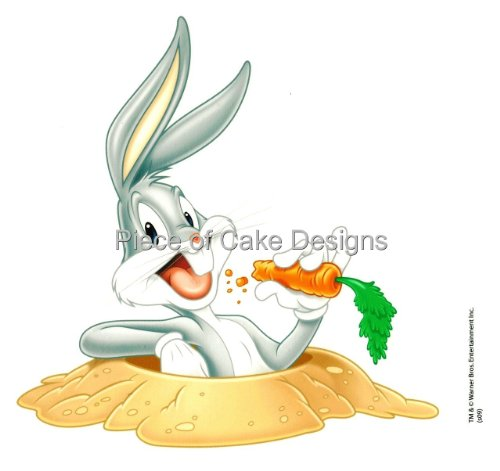 1/4 Sheet ~ Looney Tunes Bugs Bunny Birthday ~ Edible Image Cake/Cupcake Topper!!!