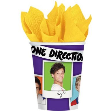 One Direction Paper Cups (8ct)