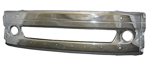 PetaParts PBP 31-028 Metal Chrome Middle Bumper for Freightliner Columbia