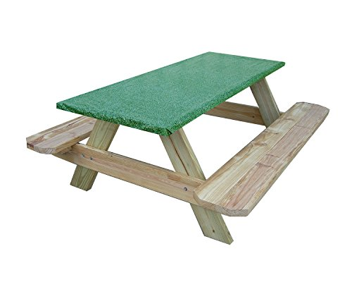 Fitted Picnic and Banquet Table Cover Green (Banquet Benches)