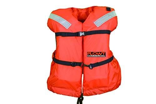 Offshore Life Vest - Omega FLOWT Commercial Offshore Life Jacket - USCG Approved Type I PFD