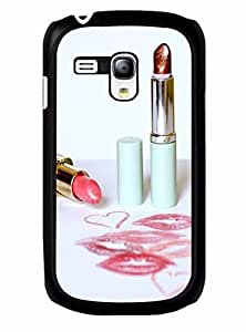 Beautiful Personalized Lips Print Tough Plastic Cover Case for Samsung Galaxy S3 Mini I8200