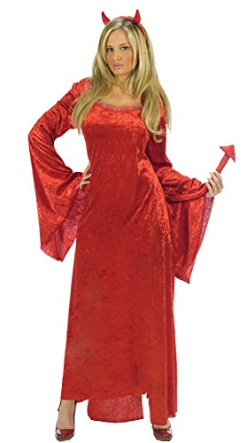 Sultry Devil Costumes (Sultry Devil Adult Costume - Small/Medium)