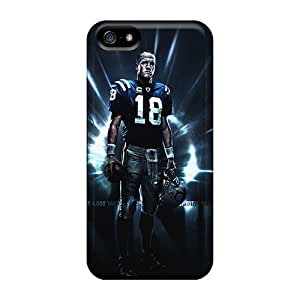 Excellent Iphone 5/5s Case Tpu Cover Back Skin Protector Indianapolis Colts