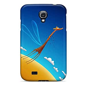 For Galaxy S4 Tpu Phone Case Cover(learning To Fly)