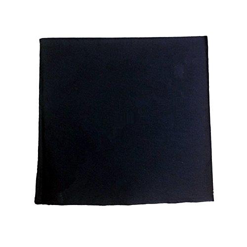 (6 Pieces 100% Cotton Cowboy Head Wrap Scarf Solid Color Bandanas)