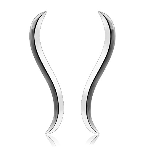 CIShop Sterling Climber Earrings Hypoallergenic