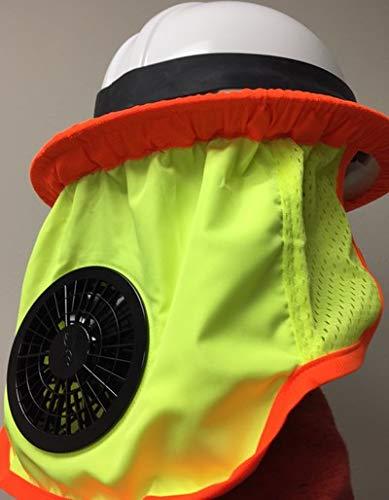 ZippKool High Visibility Helmet Fan Attachment (Full Brim) HVC-01U by ZippKool