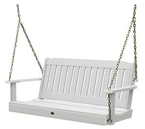 Highwood Lehigh Porch Swing 5 feet, White
