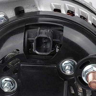Alternator FINDAUTO 11572 Fit For 11 12 13 14 15 16 17 2011 2012 2013 2014 2015 2016 2020 Dodge Challenger Charger Durango Jeep Grand Cherokee 4801779AG RL801779AG 421000-0750 160 Amp 12 Volt: Automotive