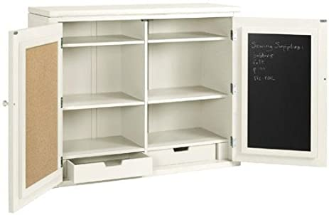 Martha Stewart Livingu0026#153; Craft Space Storage Hutch, 34u0026quot;Hx42u0026quot;W