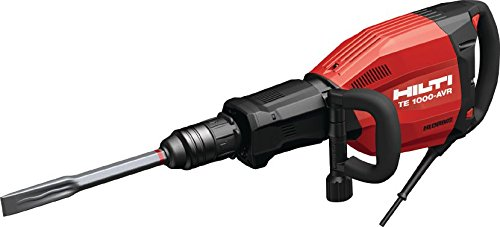 Hilti 3523418 TE 1000-AVR Demolition Hammer and Breaker Package