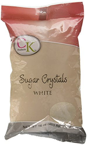 Decorating Sugar Crystals (Sugar Crystals White)