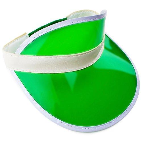 Brybelly Official Green Casino Style Dealer Visor (Plastic Visor)