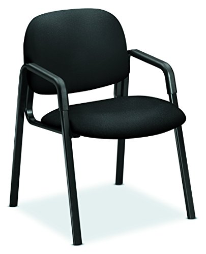 HON HON4003CU10T Solutions Seating Guest Chair, Black CU10 ()