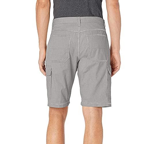 Semoatuc Fitnessbroek zomer heren vintage cargoshorts korte broek flexibele bermuda shorts sportbroek voor vrije tijd…