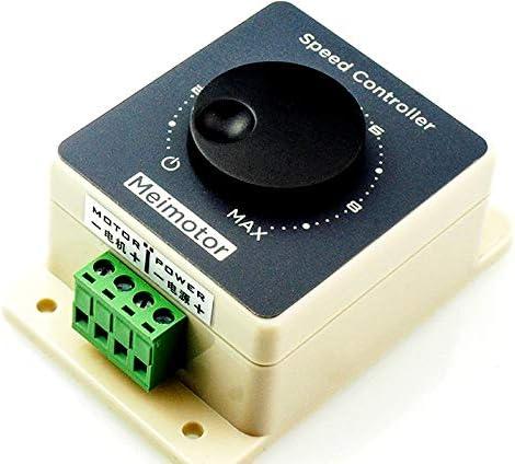 DC10-60V 20A Pulse Width Modulator PWM Motor Speed Controller High power waterpr