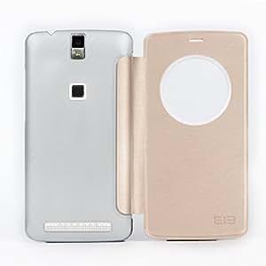 Original Elephone P8000 Smartphone visualizar la pantalla con Caso de la vibración de bóveda de protección-color dorado