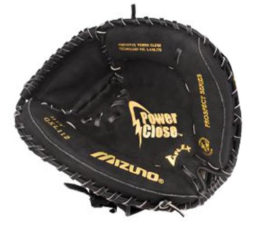 Mizuno Prospect GXC112 Youth Catcher's Mitt (31.50-Inch, Right Handed - Baseball Mitt Model Catchers