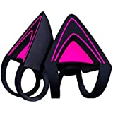 Razer Kitty Ears for Kraken Headsets: Compatible with Kraken 2019, Kraken TE Headsets - Adjustable Straps - Water…