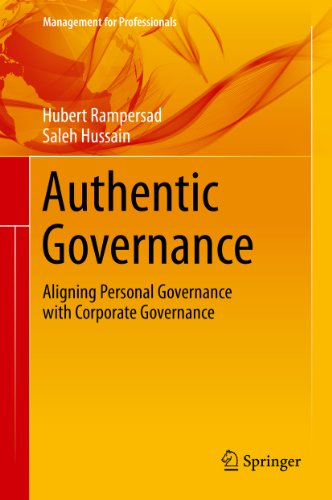 Download Authentic Governance (Management for Professionals) Pdf