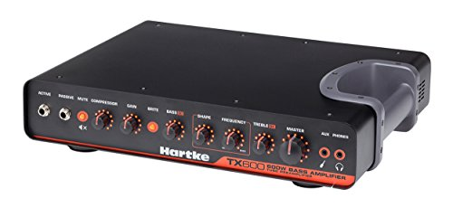Hartke TX600 600-Watt Class D Bass Amplifier by Samson Technologies