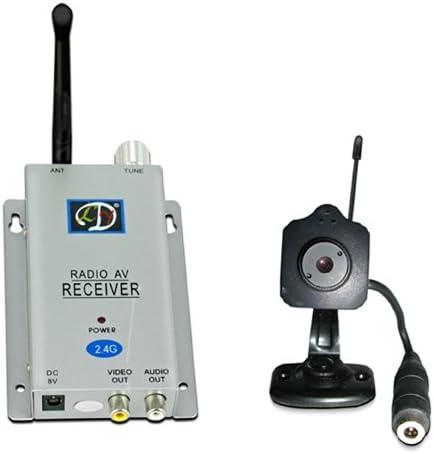 Astak CM-A815 2.4GHz DIY Wireless Mini Spy Surveillance Hidden Pinhole//Mini Col