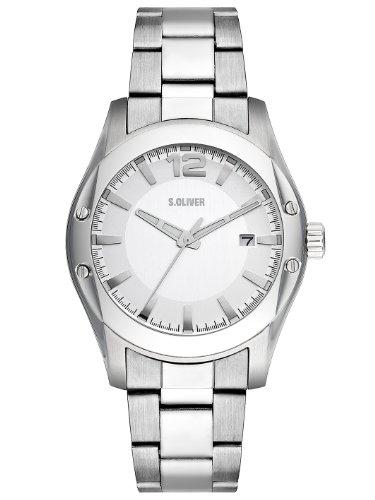 s.Oliver Herren-Armbanduhr Quarz Analog SO-2207-MQ
