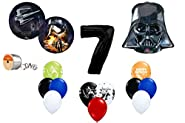 Star Wars Force Awakens 7th Birthday Balloon Bouquet