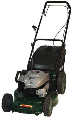 Webb 19in/48cm 3-in-1 Alloy Deck Petrol Rotary Lawnmower by Webb