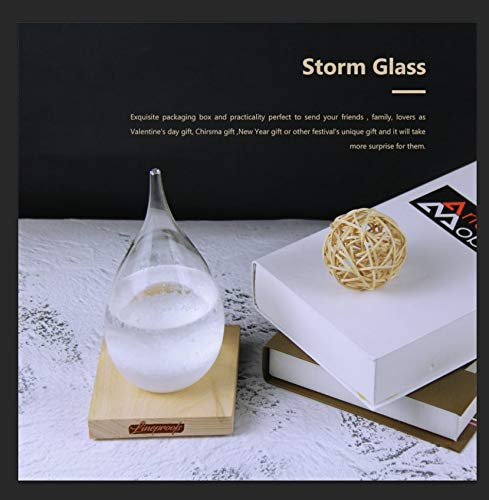 Lineproofs Large Storm Glass Weather Predictor