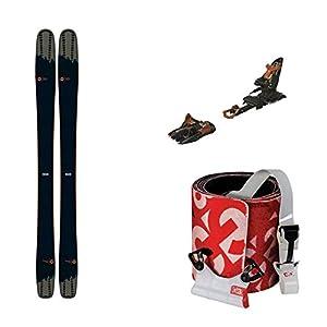 2020 Rossignol Soul 7 180cm Skis, 2020 Marker Kingpin 10 2020 100-125mm Bindings & G3 Escapist Universal 120 Long Skins