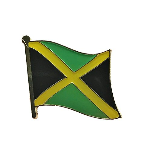 Jamaica Flag Lapel Pin - Backwoods Barnaby Jamaican Flag Pin